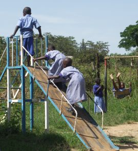 Children in the playground